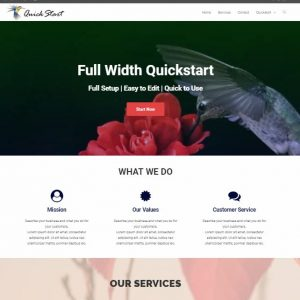 3-Page Responsive Website Package